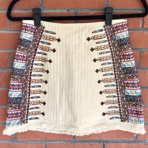 🌵SALE ✨Zara Trafaluc boho/ native skirt